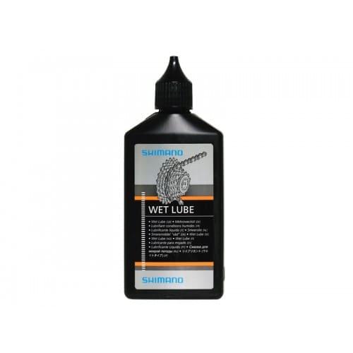 Olej do łańcucha Shimano WET 100 ml mokre warunki
